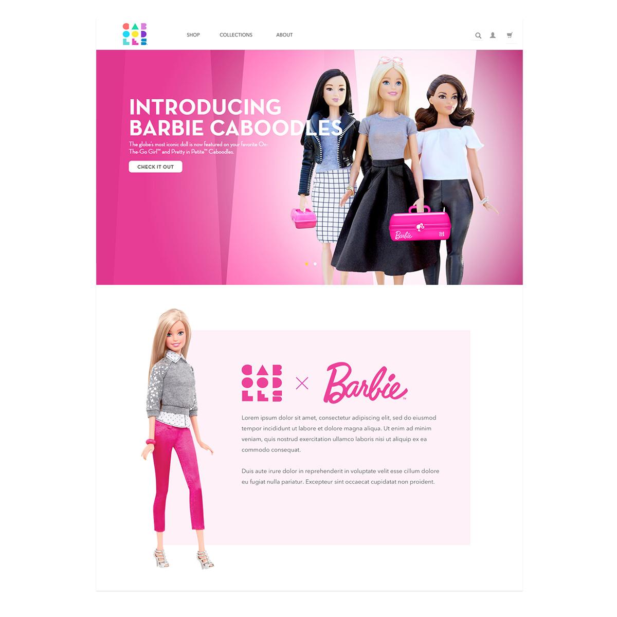 caboodles barbie landing page 1