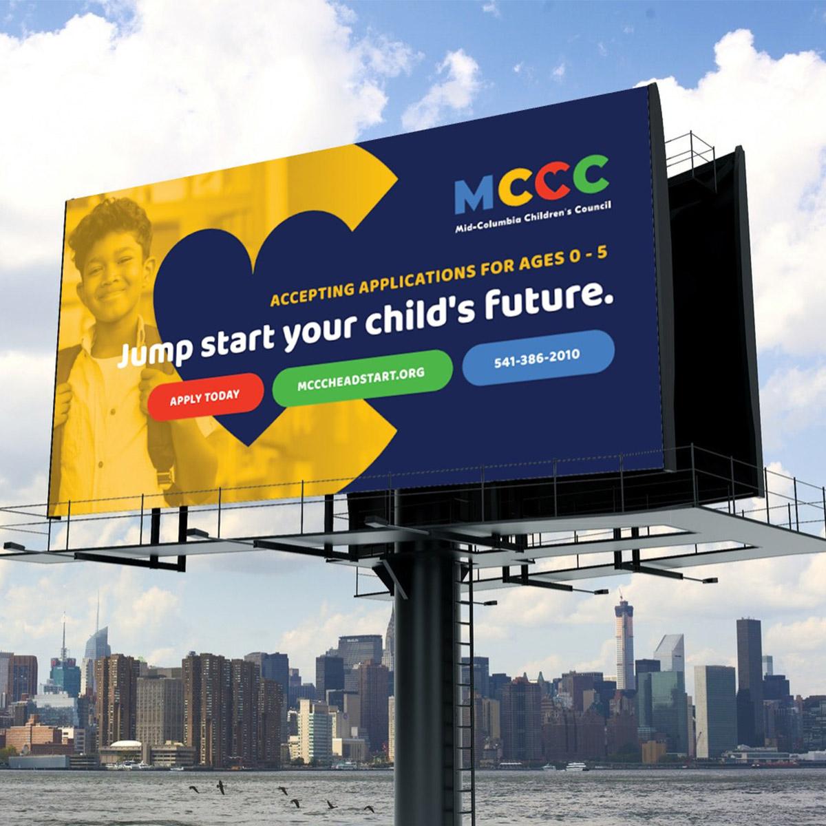 mccc billboard design