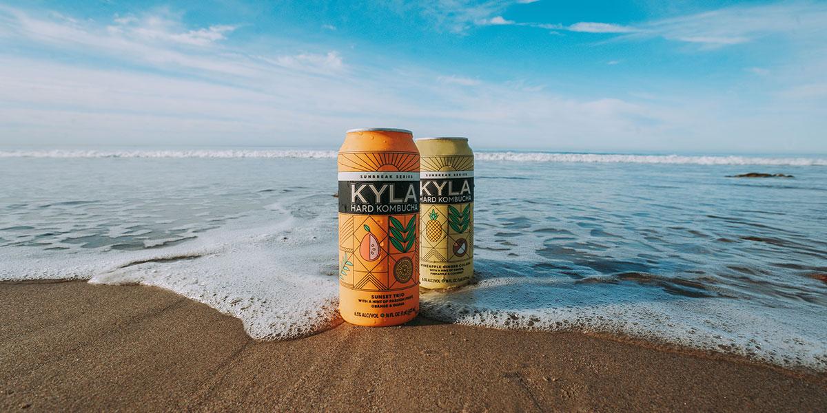 kyla kombucha beach 2