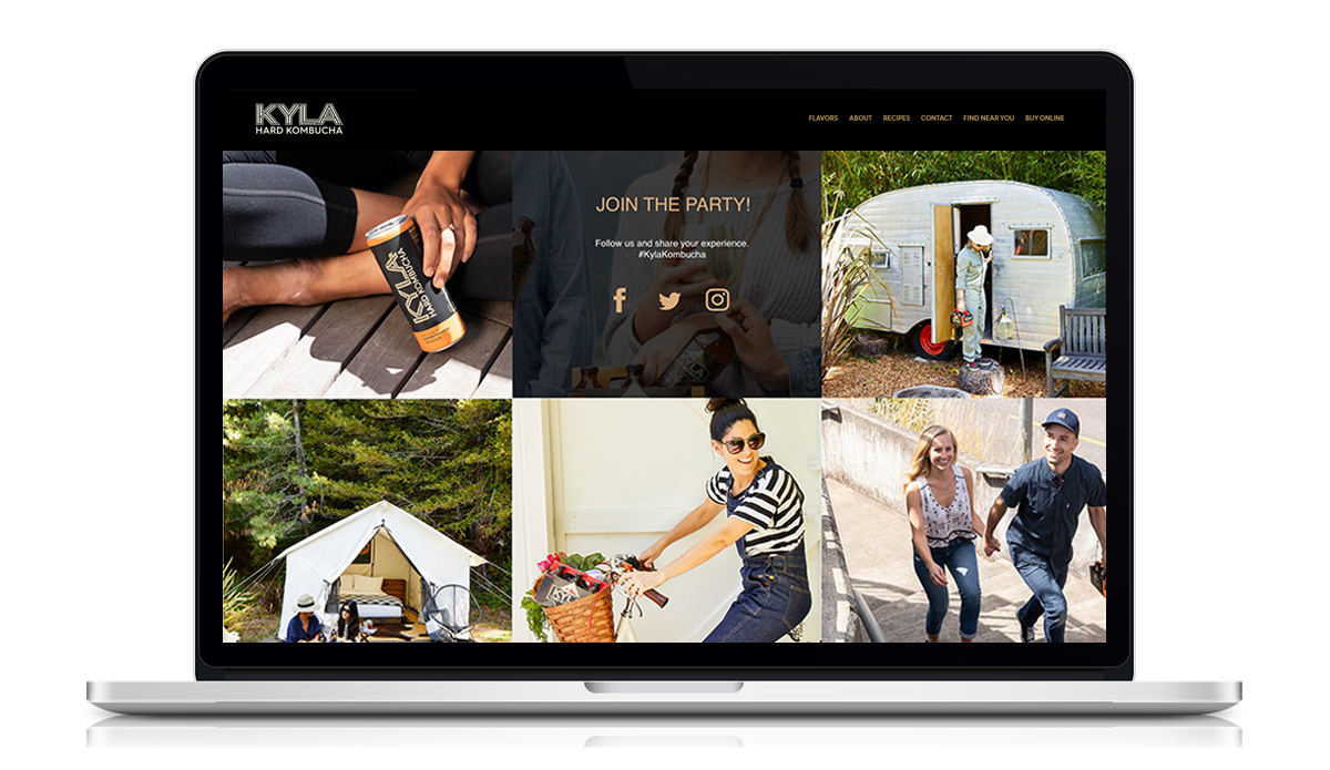kyla kombucha beach website2.1